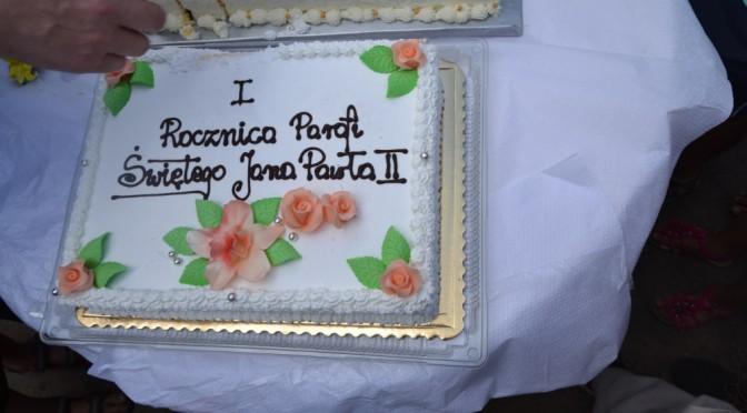 Festyn rodzinny w I rocznicę powstania parafii