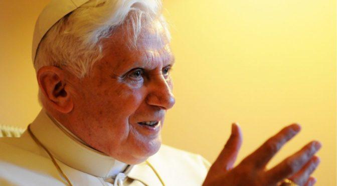 Tekst Benedykta XVI papieża emeryta o bieżących sprawach Kościoła
