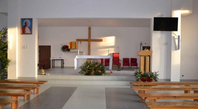Zapraszamy do naszej nowej kaplicy